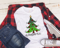 "Christmas screen print, Christmas Sublimation, Vinyl transfer, Ready to Press Transfer, ""Oh Christmas Tree"" Printed Transfer,Heat Transfer"