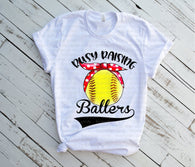 "Baseball Sublimation Transfers, Sports shirt transfer, Baseball design, Sublimation transfers, HTV transfers, ""Raising Ballers Softball"""