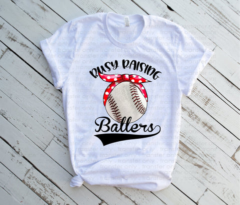 "Baseball Sublimation Transfers, Sports shirt transfer, Baseball design, Sublimation transfers, HTV transfers, ""Raising Ballers Baseball"""