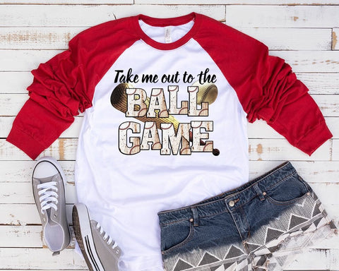 """Take me Out to the Ballgame "" - Ready to Press Heat Transfer"