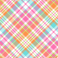 """Carrot Criss Cross Plaid"" - Pattern Vinyl and Heat Transfer Vinyl"