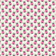 """Little Miss Lady Bug"" - Pattern Vinyl and Heat Transfer Vinyl"