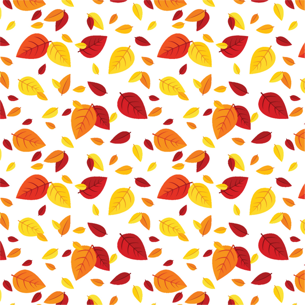 """Leaves Falling""  Permanent Adhesive Vinyl OR Heat Transfer Vinyl"