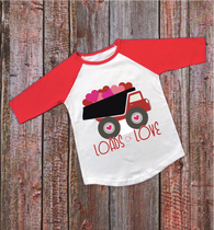 """Loads of Love"" Valentines - Ready to Press Heat Transfer"