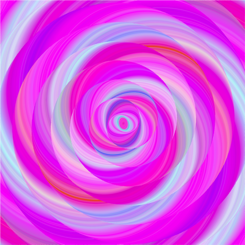 """Lollipop Fluorescent Swirl Pink""  Pattern Vinyl and Heat Transfer Vinyl"