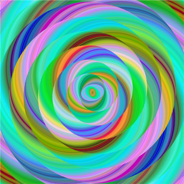 """Lollipop Lime Swirl"" - Pattern Vinyl and Heat Transfer Vinyl"