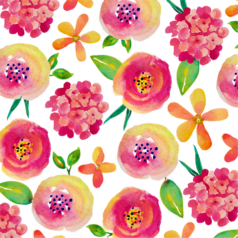 """Mother's Day Bouquet"" Adhesive Pattern Vinyl and Heat Transfer Vinyl Sheets"