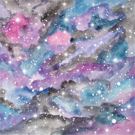 """Mystical Galaxy"" - Pattern Vinyl and Heat Transfer Vinyl"