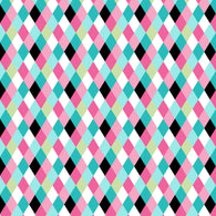 """Plaid Diamonds"" Pattern Vinyl and Heat Transfer Vinyl"