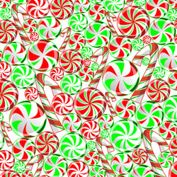 """Peppermint Land "" Permanent Adhesive Vinyl OR Easy Heat Transfer Vinyl"