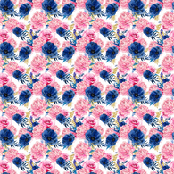 """Pink Bouquet"" - Pattern Vinyl and Heat Transfer Vinyl"
