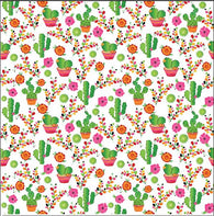 """Scrappy Cali Cacti"" Heat Transfer Vinyl and Permanent Adhesive Vinyl"