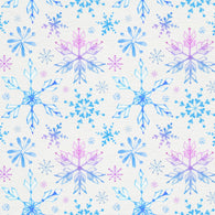 """Snowflakes"" Permanent Adhesive Vinyl and Heat Transfer Vinyl"
