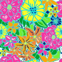 """Summer Fun""  Pattern Vinyl and Heat Transfer Vinyl"