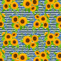 """Sunflower Path"" Heat Transfer Vinyl Sheets and Permanent Adhesive Vinyl Sheets"