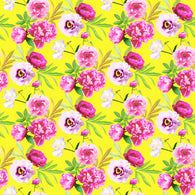 """Sunshine Flowers"" Heat Transfer Vinyl and Permanent Adhesive Vinyl"