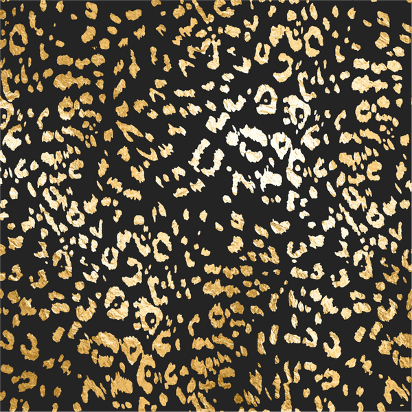 """Tropical Gold Cheetah"" Permanent Adhesive Vinyl and Heat Transfer Vinyl"