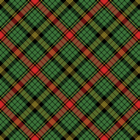"""Warm Xmas Blanket Plaid"" Vinyl OR Easy Heat Transfer Vinyl"