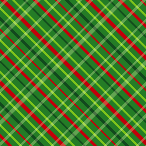 """Wrapping Paper Green Plaid""  Permanent Adhesive Vinyl and Heat Transfer Vinyl"