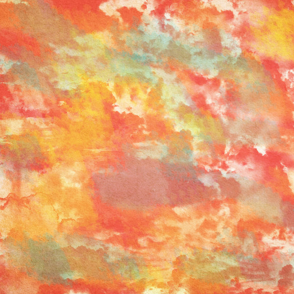 """Watercolor Sunset Gold"" - Pattern Vinyl and Heat Transfer Vinyl"