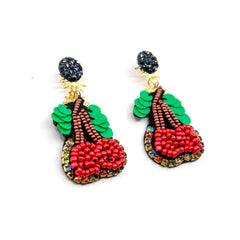 Cherry Earrings Shine Design and Shop at the Wynwood Shop