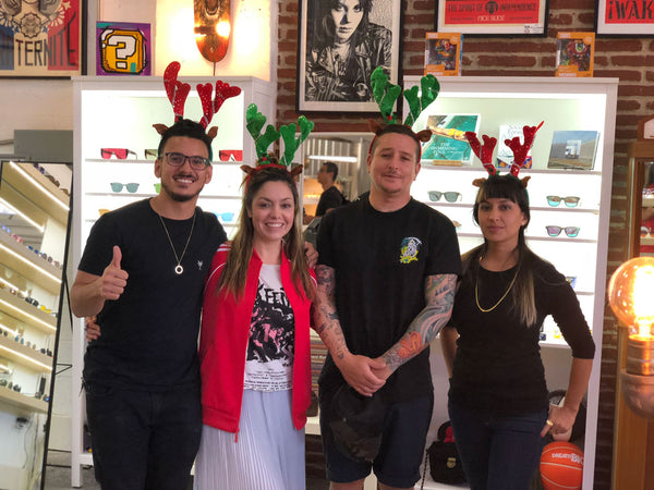 Wynwood Shop Christmas Group Photo