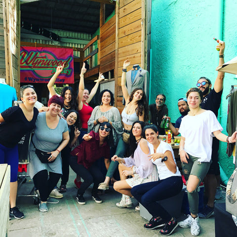 Wynwood Shop Alley Group Photo