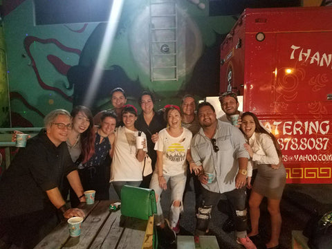 Wynwood Shop Group Photo with Vendors