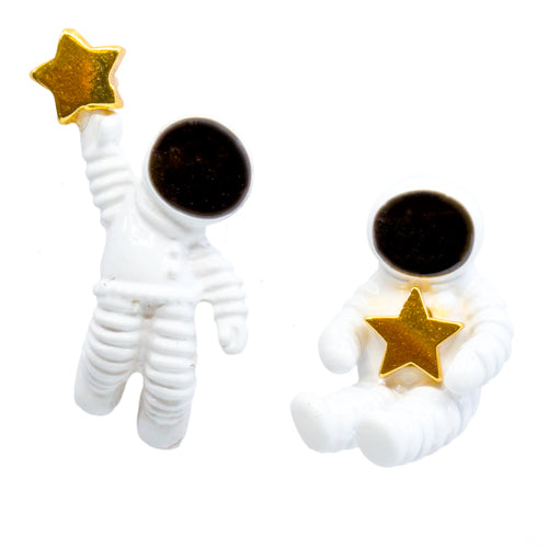 Astronaut Stud Earrings - Wynwood Shop