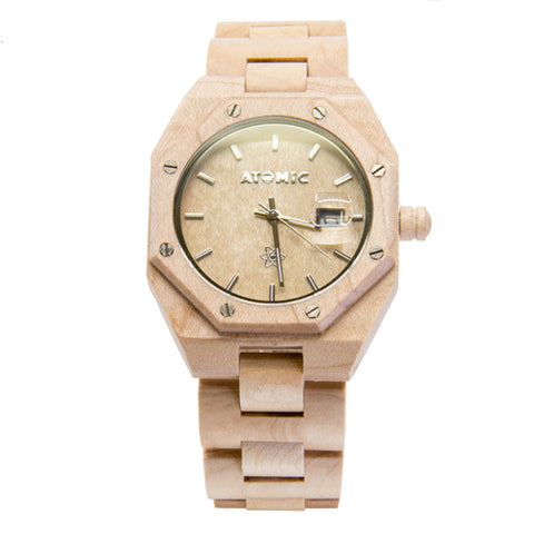 Multi-Color Bamboo Watch