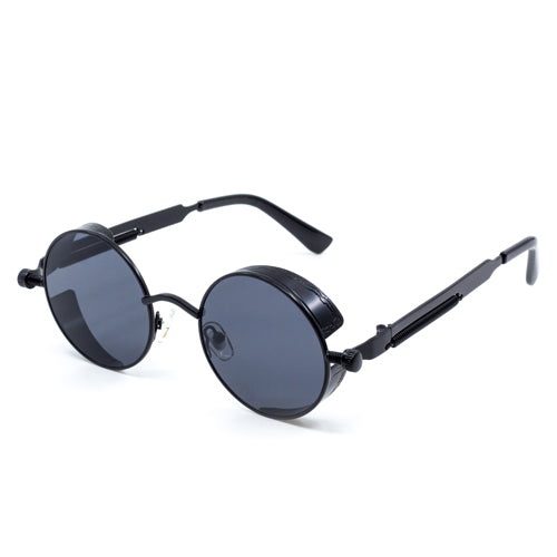 Round Steampunk Sunglasses - Wynwood Shop
