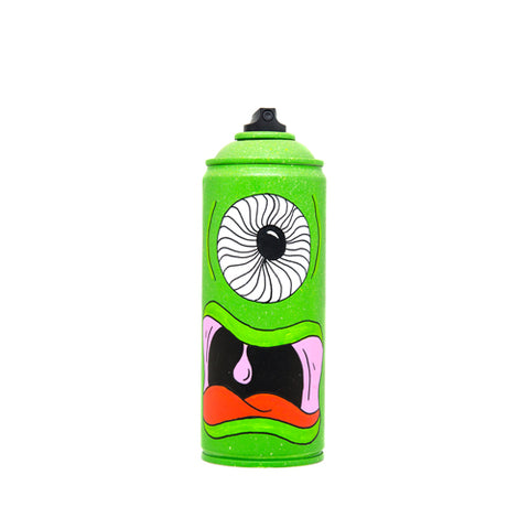 Monster Spray Can (One-eyed Green)