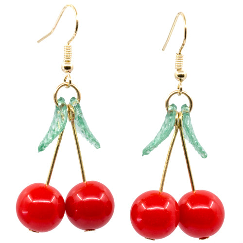 Cherry Style Retro Earrings - Wynwood Shop