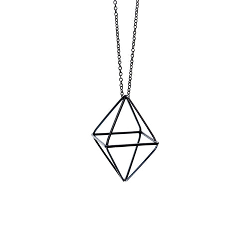 Geometry Black Diamond Necklace from the Wynwood Shop