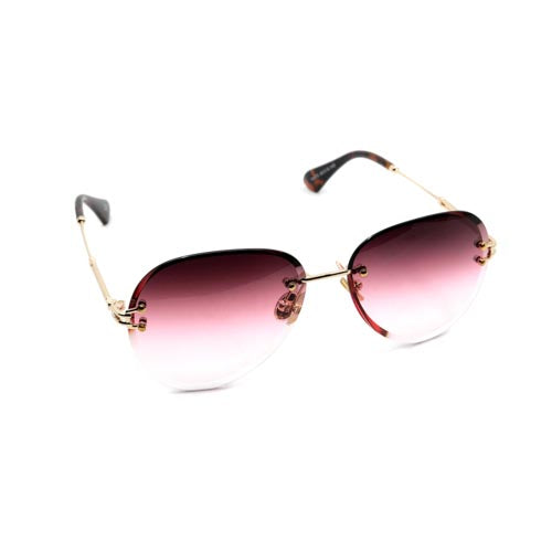 The Frameless Aviator Wynwood Sunglasses - Wynwood Shop