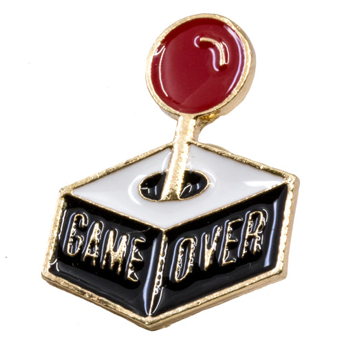 Game Over Enamel Pin - Wynwood Shop