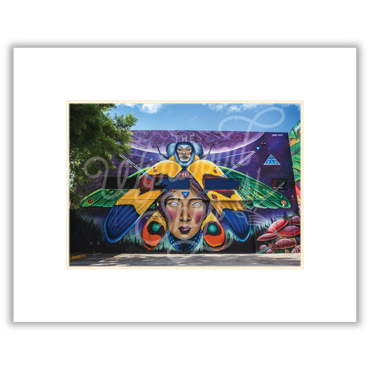 Monkey-Beetle-Goddess by Shalak Attack (Street View) - Wynwood Shop