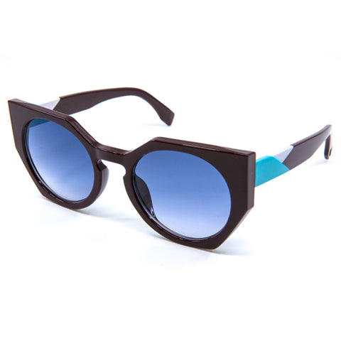 Cat-Eyed Snow Leopard Sunglasses