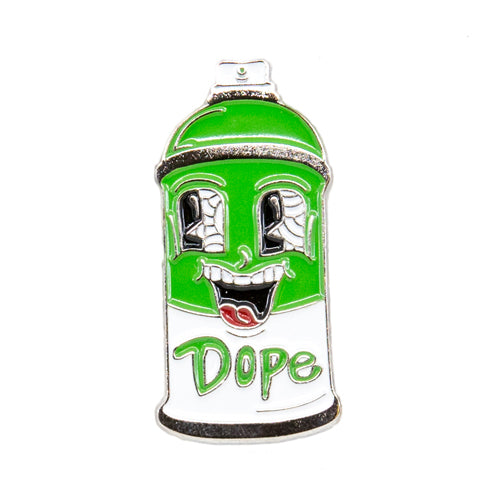 RodriDesign Dope Can Enamel Pin from the Wynwood Shop