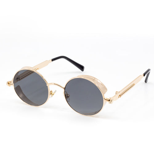 Atomic Round Steampunk Sunglasses from Wynwood Shop