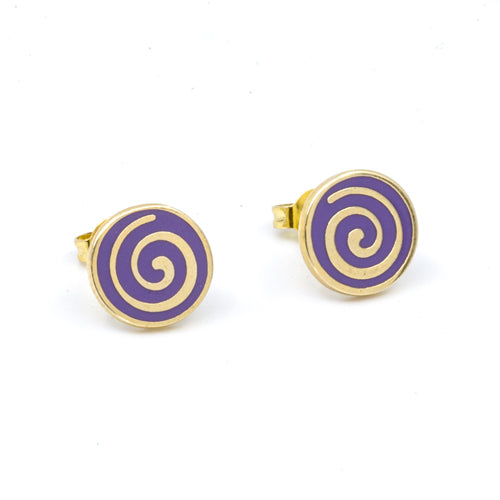 Spiral Studs from the Wynwood Shop