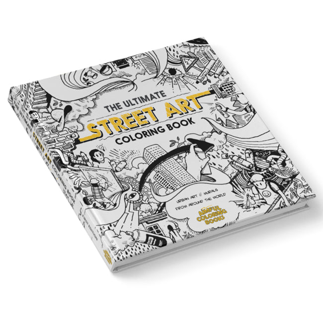 Aimful Books The Ultimate Street Art Coloring Book from the Wynwood Shop