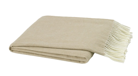 Italian Herringbone Throw - Dune