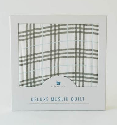 Deluxe Muslin Quilt . Pendleton Plaid