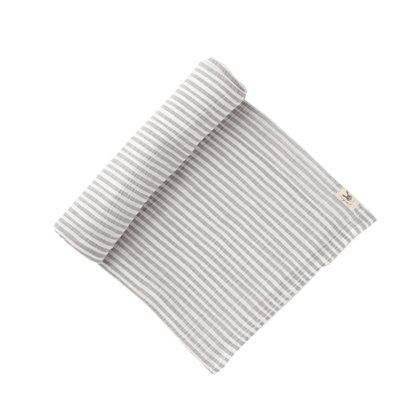 Grey Stripe Swaddle