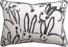 Bunny Pillow - Black