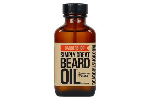 SIMPLY GREAT BEARD OIL | BARBERSHOP | 3 oz.