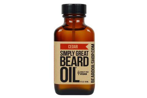 Simply Great Beard Oil | Cedar | 3 oz.
