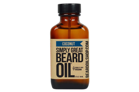 Simply Great Beard Oil | Coconut | 3 oz.