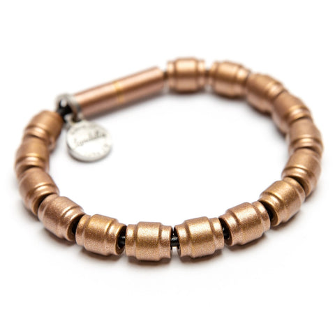 Full Barrel Bead Leather Bracelet | Color of the Month
